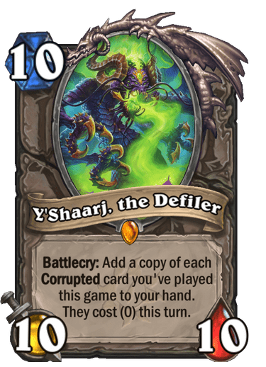 Y'Shaarj, the Defiler