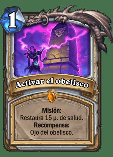 Activar el obelisco