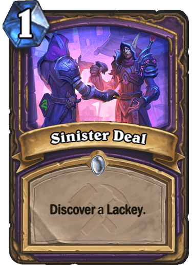 Sinister Deal