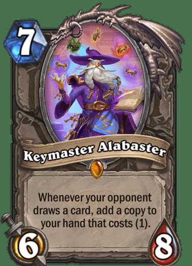 Keymaster Alabaster