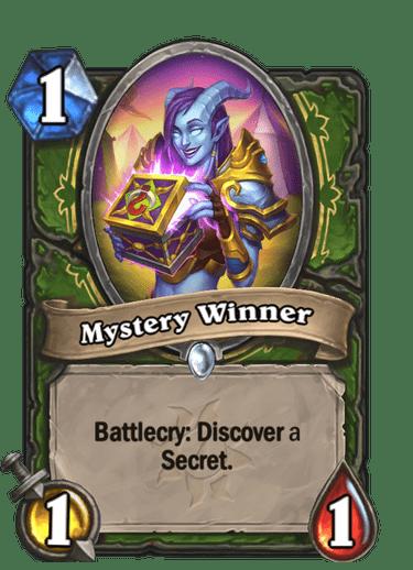 Mystery Winner