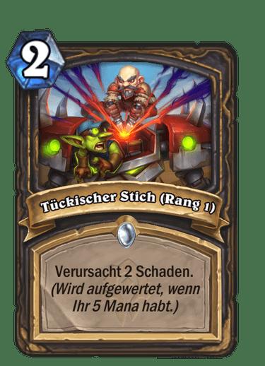 Tückischer Stich (Rang 1)