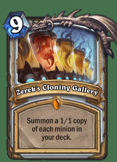 Zerek's Cloning Gallery