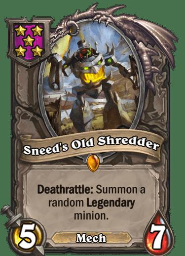 Sneeds Old Shredder