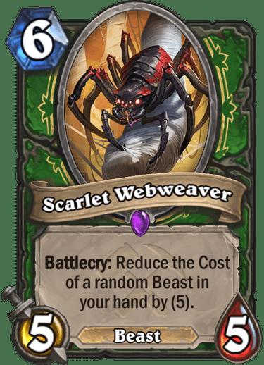 Scarlet Webweaver