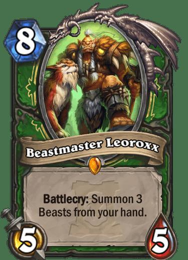 Beastmaster Leoroxx